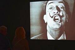 Dali's interview. (odeber) Tags: halsman