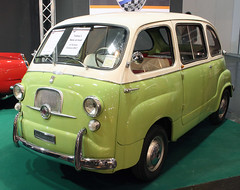 Multipla (Schwanzus_Longus) Tags: german germany italy italian old classic vintage car vehicle techno classica essen minivan diat 600 multipla