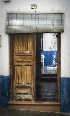 In out (pelpis) Tags: door house town places andalusia andalucia bujalance spain españa details streetscene street traditions