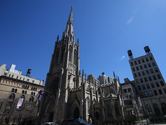 Grace Church NYC (Lawrence OP) Tags: grace church nyc episcopal tower spire gothic neogothic