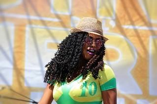 Beautiful brazilian dancer