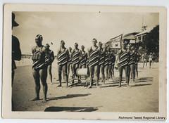 ByronBay March Past Team at Coolangatta, 1938 (RTRL) Tags: byronbay surflifesaving surfclub surflifesavingcarnival