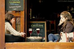 Sweet Brussels (Natali Antonovich) Tags: portrait sweetbrussels brussels belgium belgique belgie lifestyle mannekenpiscafe cafe terras friends talk bier belgianbeer beer tradition relaxation profile