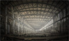 100 % of humidity and 13 ° C (Yamabxl) Tags: hdr centralethermique decay panorama urbex usine powerplantv germany abandoned abbandonato creepy derelict dereliction forgotten forbidden ghost gloomy highdynamicrange hidden lostplaces prohibed prohibé powerplant panoramas fog humidity brume