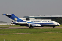 VP-BPZ Boeing 727-17(RE)(WL) Peter Nygard (pslg05896) Tags: stn egss stansted vpbpz boeing727 peternygard