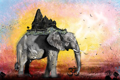 Remover Of Obstacles (tysonfenechart) Tags: ganesha elephant hindu ganapati vinayaka binayak buddhism jainism deity spiritual obstacles indian nepal ohm meditation prayer
