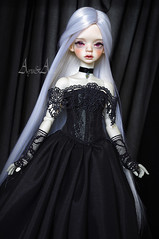 Gothic Ball (AyuAna) Tags: bjd ball jointed doll dollfie ayuana design handmade ooak clothing clothes dress set fantasy gothic style dim dollinmind hybrid
