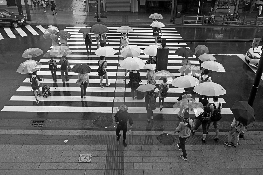 Rainy season - Japan
