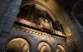 Sacre Coeur organ - Paris