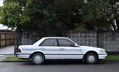 1989 Nissan Bluebird (stephen trinder) Tags: stephentrinder stephentrinderphotography christchurch aotearoa landscape nz newzealand kiwi thecarsofchristchurchnewzealand thecarsofchristchurch 1989 nissan bluebird