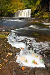 Waterfall Country (midlander1231) Tags: waterfallcountry breconbeacons wales landscape waterfall river autumn movement longexposure colour leaves fall nature