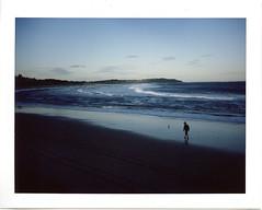 Sydney beach on FP-100c  #184 (lynnb's snaps) Tags: deewhy fp100c mf beach colour film instantfilm mediumformat pool 2015 polaroid250 fujifp100c sydney long reef