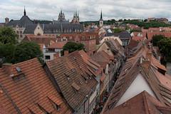 Krämer-Dächer (grapfapan) Tags: altstadt oldtown cityscape urban city roofs rooftop krämerbrücke germany thüringen erfurt