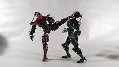 sektor vs Nuhvok (vicent steffens (gerou 100)) Tags: lego cyborg sektor nuhvok figure action fight mortal kombat ketchup