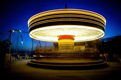 🎠🎠🎠 (mathilde.metairie) Tags: citylife nightlife night southoffrance frenchie frenchphotographer lights carrousel poselongue longexposure marseille