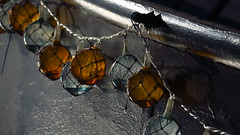 Water drops in glass beads (sara.johnsson1) Tags: glass beads glassballs water drops waterdrops boat
