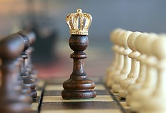 Queen of pawns (svklimkin) Tags: queen chess pawns power domination sway control svklimkin think intelligence figure board play