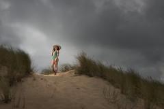 On gray days (Marce Alvarez.) Tags: profoto nikon liencres cantabria cantabrico marcealvarez modelaje modeling