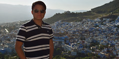 View over Chefchaouen, Morocco (Nicolay Abril) Tags: شفشاو الشاون تطوان المغرب أفريقيا العربي chefchaouen chaouen xaouen chauen xauen chefchauen tangiertetouan tétouan tangertetouan tangertetuan tetuán tetuanprovince marruecos marocco morocco maroc marokko maghreb magreb africa afrika afrique