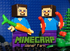New brickfilm!! https://youtu.be/4mujVTI_cnQ (woodrowvillage) Tags: lego legos brickfilm moc minecraft minecrap woodrow village comedy funny hotdogs chorizo sausage bacon toys animation
