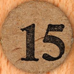 Popeye Bingo number 15 (Leo Reynolds) Tags: xleol30x number numberbingo xsquarex bingo lotto loto houseyhousey housey housie housiehousie numberset squaredcircle 10s sqset136 canon eos 40d xxtensxx xx2017xx sqset