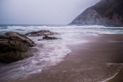 Grey Skies :( (Dragonslayer8888) Tags: long exposure ca california half moon bay sf san francisco beautiful landscape seascape nature nd filter nikon d3200 naturewatcher