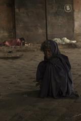 Black planet, black world (alfienero) Tags: slum kolkata flower market drugs people reportage photojournalism india