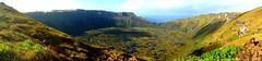 Crater_orongo_Easter_island (ruben25x12) Tags: isladepascua easterisland easter polinesia polynesia moai islapajaro orongo ranoraruka marae cultura akivi hangaroa chile anakena