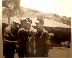 Vietnam 1968 (will139) Tags: vietnam lzvandergriff signalhill usmc promotion 1968 1st radio btl 1stradiobattalion