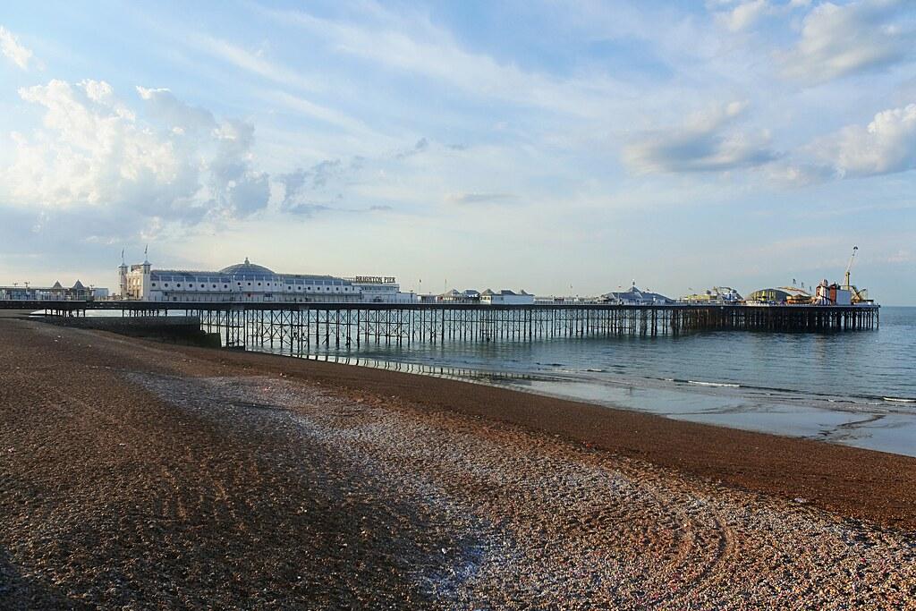 Palace Pier at dawn