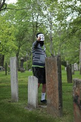 Poses in the Cemetery (interrailing) Tags: bless beasts children