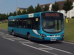 Upgrade imminent: Arriva Harlow Volvo B7RLE/Wright Eclipse 2 KX11PVN (3875) Forest Hall Road Stansted Mountfitchet 18/06/17 (TheStanstedTrainspotter) Tags: arriva arrivakentthameside bus buses stansted stanstedmountfitchet public transport publictransport bishopsstortford harlow networkharlow volvo b7rle volvob7rle wrightbus eclipse urban wrighteclipse2 wrighteclipseurban kx11pvn 3875 510 stanstedairport foresthallroad