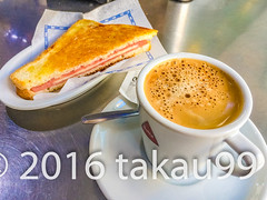 Breakfast (_takau99) Tags: castillayleon attraction avila cultural culture destination europe european spain spanish travel takau99 2016 food coffee toast