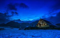 Tevno lake shelter (2512 m) at the blue hour (erfey07) Tags: astoundingimage landscape