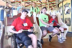 IMG_8330 (varietystl) Tags: carousel anklefootorthotics afos legbraces summercamp afobraces orthotics manualwheelchair