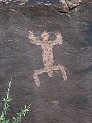 Petroglyph / Sand Island Site (Ron Wolf) Tags: anthropology archaeology bearsearsnationalmonument nationalpark nativeamerican sandisland anthromorph anthropomorph petroglyph rockart utah