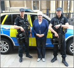 Feeling Secure .. (** Janets Photos **) Tags: ukhullcitycentre cities police armedpolice