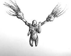 Mitosis (Marcos Telias) Tags: illustration drawing dibujo ilustración sketch boceto bosquejo arte artista artist ballpoint bolígrafo pen lápiz fantasy
