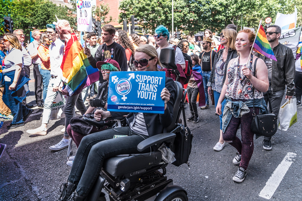 LGBTQ+ PRIDE PARADE 2017 [ON THE WAY FROM STEPHENS GREEN TO SMITHFIELD]-130121