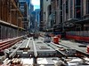 CBD & South East Light Rail - Installation of APS between Park and Market Strrets  - 24 June 2017 - 2 (john cowper) Tags: cselr sydneylightrail aps ingoundpowersupply georgestreet parkstreet queenvictoriabuilding qvb tracks acconia alstom transportfornsw sydney newsouthwales
