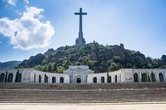 el valle de los caidos (cvielba) Tags: basilica cruz elescorial madrid valledeloscaidos