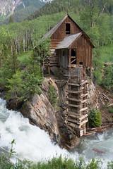Crystal River Mill (Rob Lee) Tags: crystal colorado river mill
