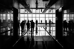 Hong Kong; ICC (drasphotography) Tags: hongkong hong kong china architecture architektur monochrome monochromatic monotone blackandwhite bw schwarzweis bianconero sw silhouette icc building drasphotography nikon d810 nikkor2470mmf28 reflection reflektion