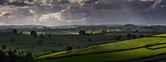 Shadows on the Hills (Peter Quinn1) Tags: litton derbyshire monsaldale wardlow drystonewalls peakdistrict whitepeak fields shadowsonthehills lightandshadow