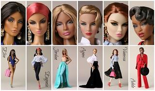 La Femme - 2017 Fashion Royalty Collection