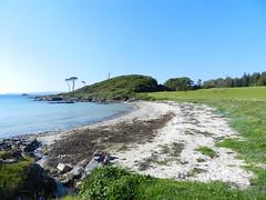 Camus an Darach Beach, Morar, Lochaber, May 2017 (allanmaciver) Tags: camus darach lochaber west coast highlands scotland sand sea shore seaweed green grass trees solitary lonley empty allanmaciver