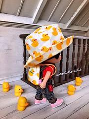 """Okay! Let's go!!"" :D (cute-little-dolls) Tags: minimuichan muichan ixtee ixdoll doll toy bubuducky hat backpack dollhouse friends kawaii"