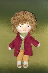 Fotos Cámara 001 (RedCap ArtDolls) Tags: hobbits thehobbit jrrtolkien hobbit dolls bilbobaggins frodobaggins frodo bilbo waldorfdoll artisancrafts handmade softdolls fabricdolls ragdolls