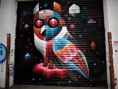 Iameelco, NY (lotosleo) Tags: iameelco dopeowl ny mural streetart outdoor мураль graffiti wellingcourt astoria urban