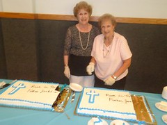 "JOAN STEVENS AND EMILY  HELPED SERVE CAKE • <a style=""font-size:0.8em;"" href=""http://www.flickr.com/photos/98129408@N05/34913345743/"" target=""_blank"">View on Flickr</a>"